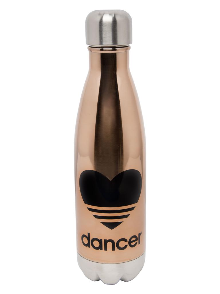 Heart Dancer Rose Gold Water Bottle