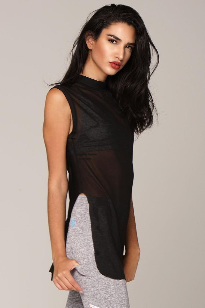 Borderline Mesh Tank - Adult