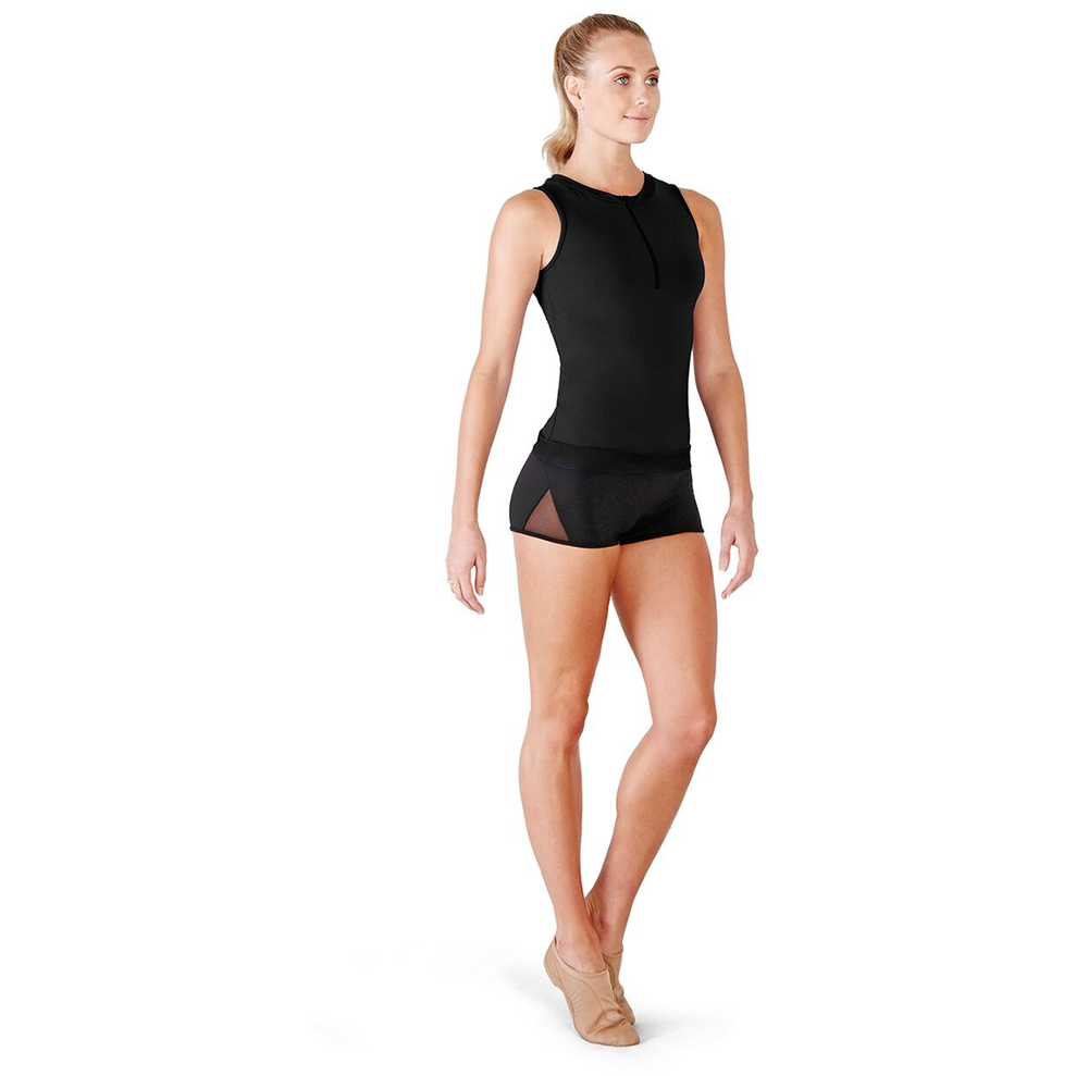 Zip Front Keyhole Tank - Adult