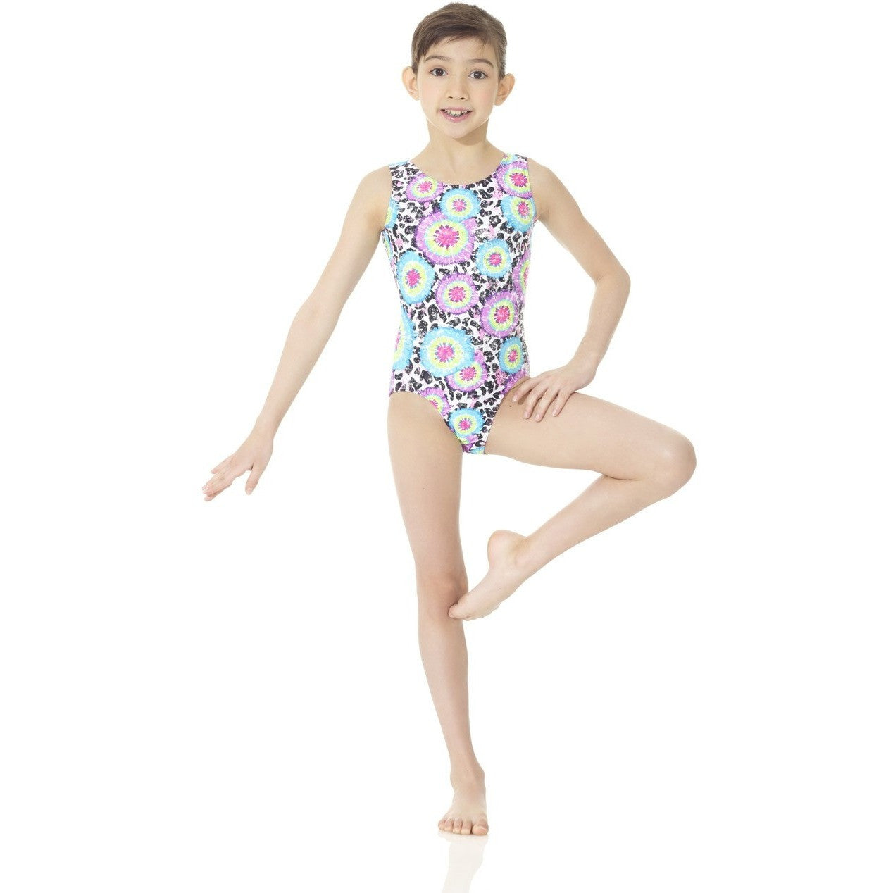 Metallic Gymnastics Leotard