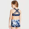 Tie Dye Strappy Back Crop Top - Child