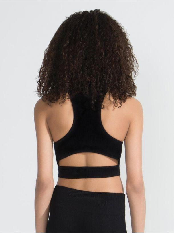 Seamless Rib Crop Top - Adult