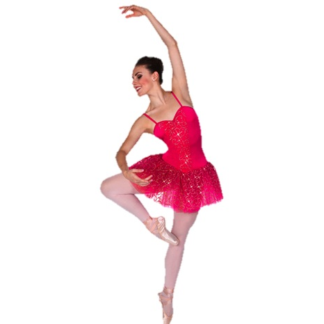 Short Glitter Scroll Tutu - Inspirations Dancewear