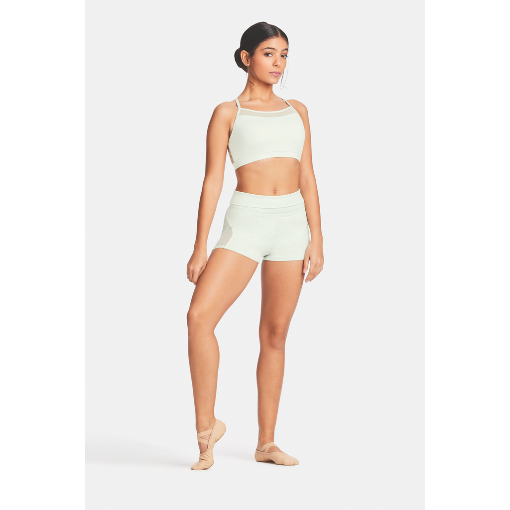 Lace Panel Shorts - Adult