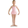 Studded Neckline Skirted Leotard - Child