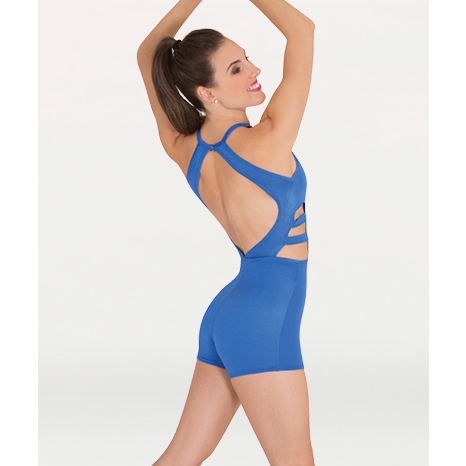 Strappy Keyhole Boy-Cut Leotard - Child & Adult