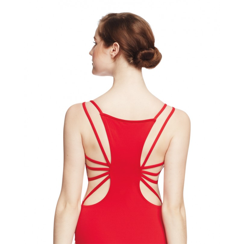 Leotard with Starburst Strappy Back - Inspirations Dancewear - 1
