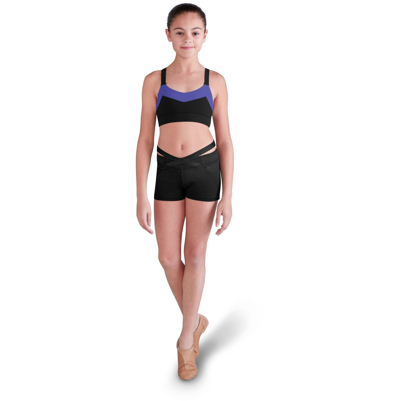 Crossover Waistband Shorts - Child