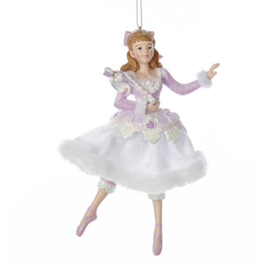 Sugar Plum Clara & Nutcracker Ornament
