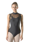 Berenice Lace High Neck Leotard - Child