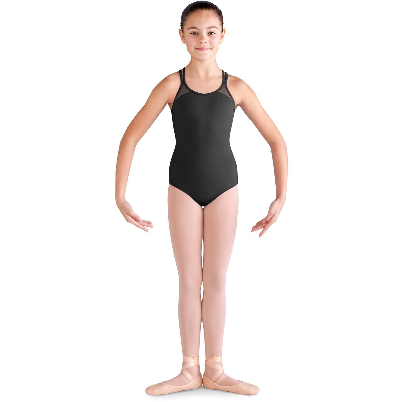 Double Cross Back Strap Leotard - Child