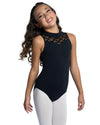 Cutaway Lace Tank Leotard - Child