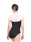 Eriko High Neck Cap Sleeve Leotard - Adult