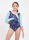 Jungle Lights Long Sleeve Leotard - Child