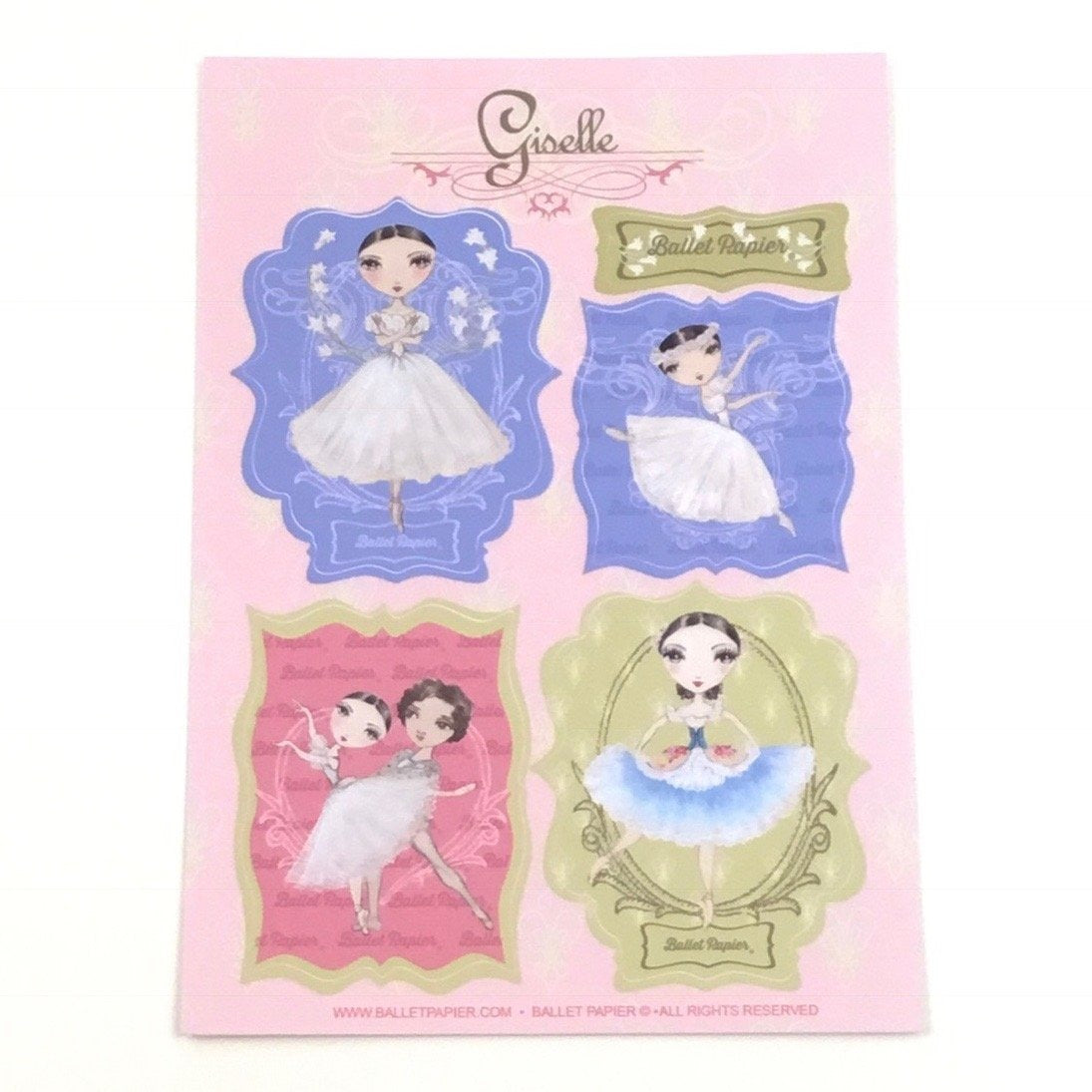 Classical Ballet Vinyl Sticker