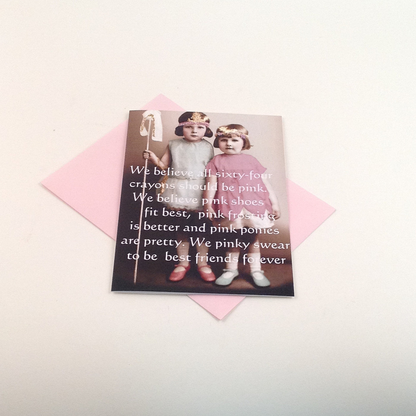 Glitter Card - We Believe