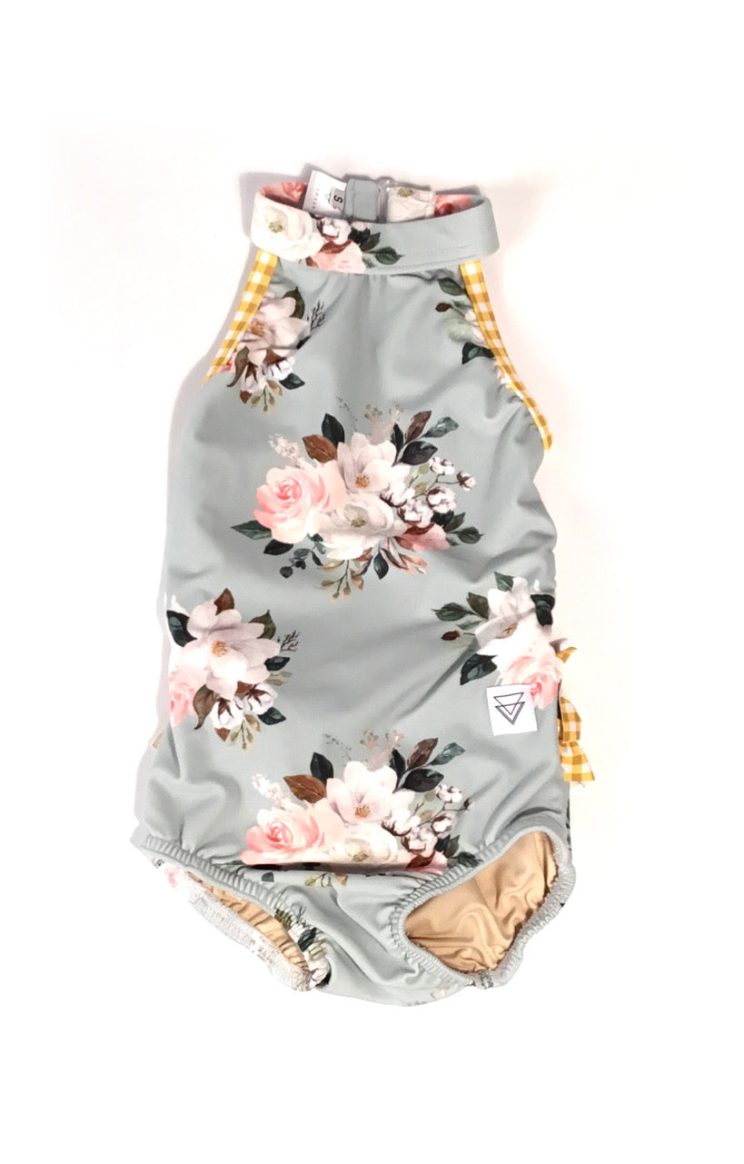 The Landyn Halter Leo with Ruffles - Child
