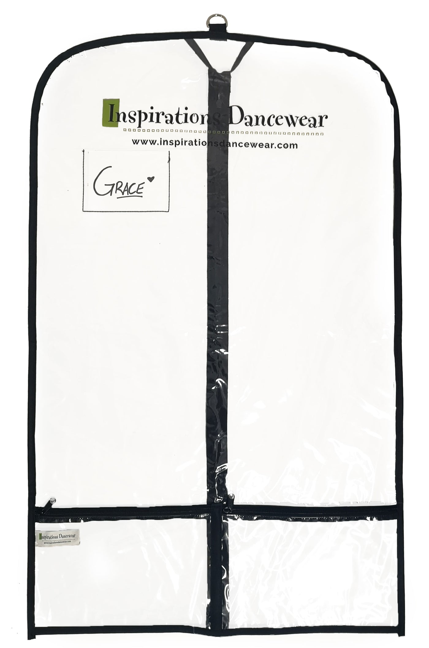 Inspirations Clear Garment Bag - 3 Pack