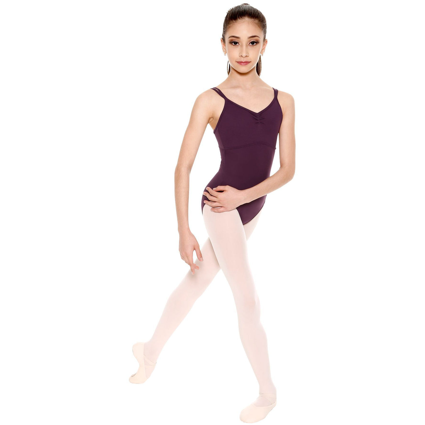 Looped Strappy Back Leotard - Child