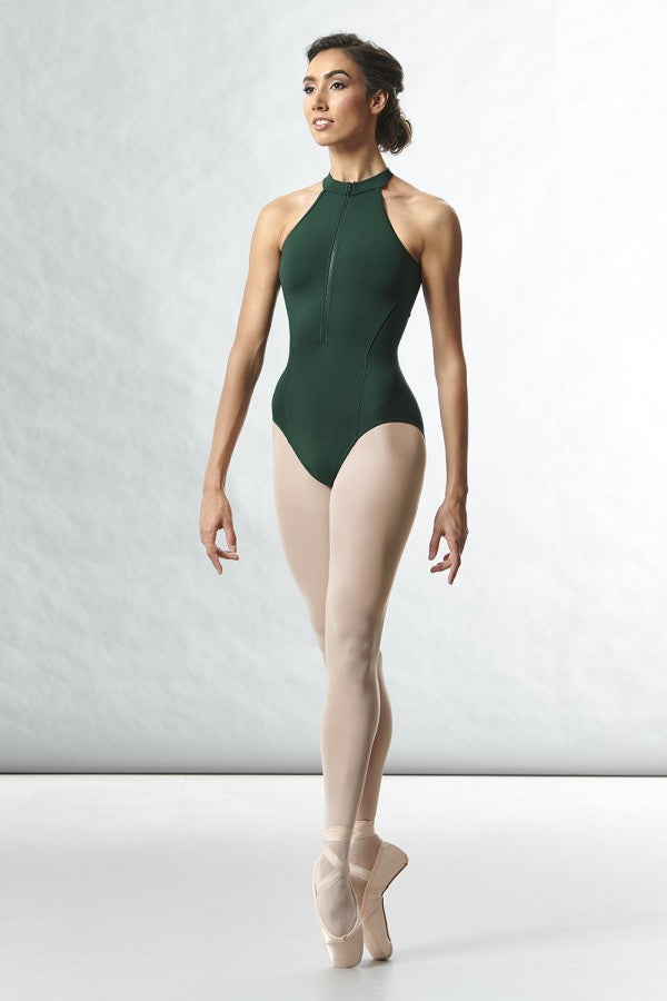 Rhode High Zip Front Open Back Bodysuit - Adult