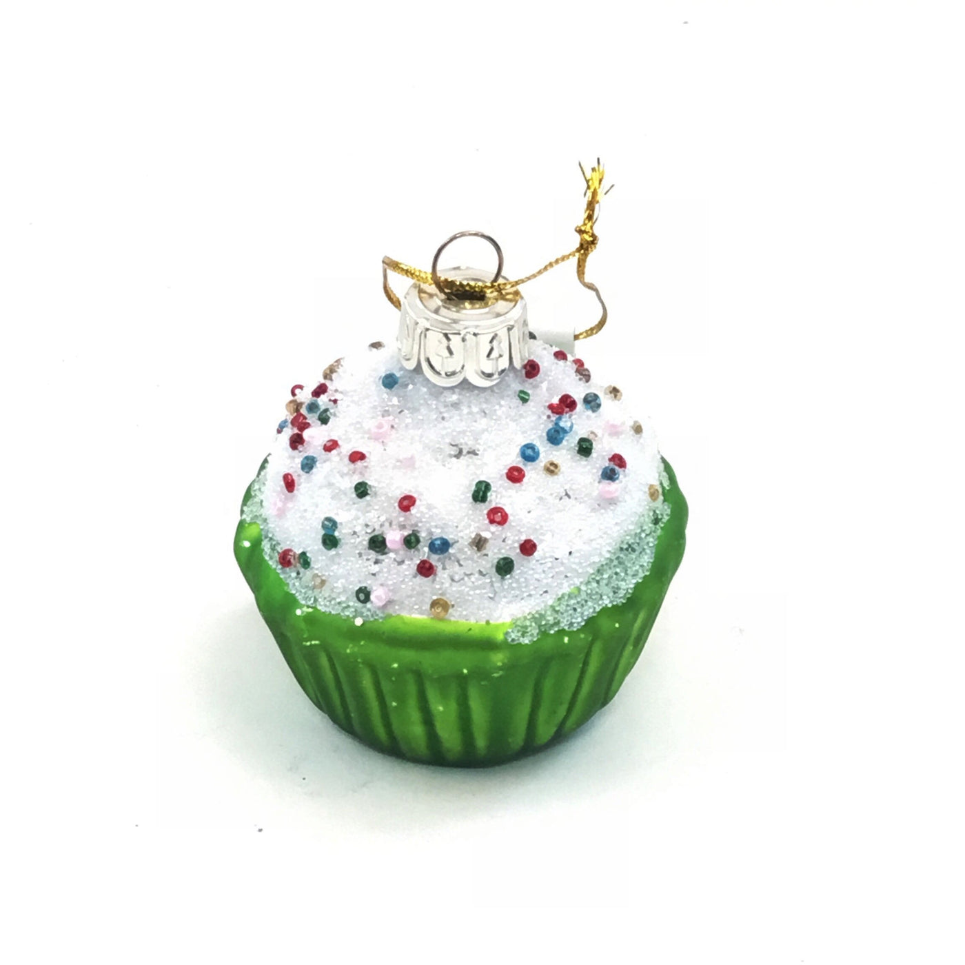 Frosted Cupcake Ornament