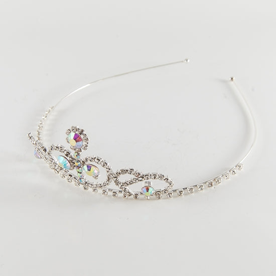 Large Tiara Headband with AB Stones