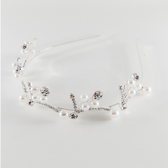 Crystal and Pearl Headband