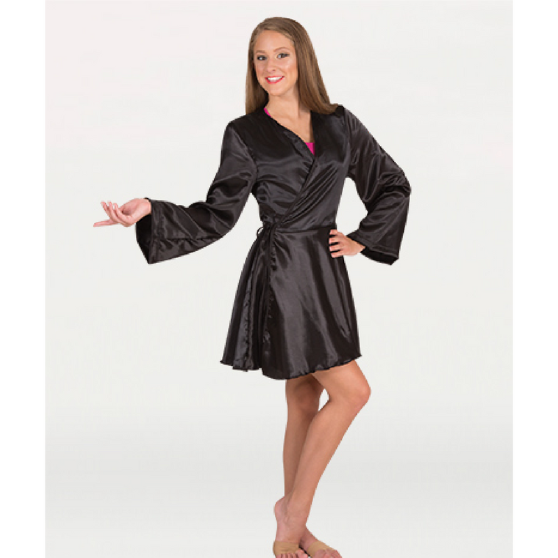 Short Satin Robe - Adult