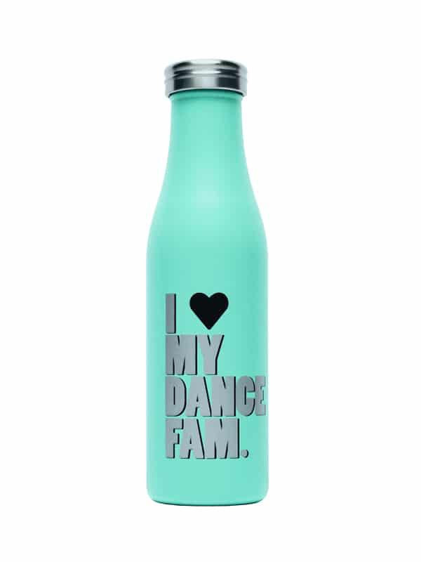 Dance Fam Water Bottle - Mint