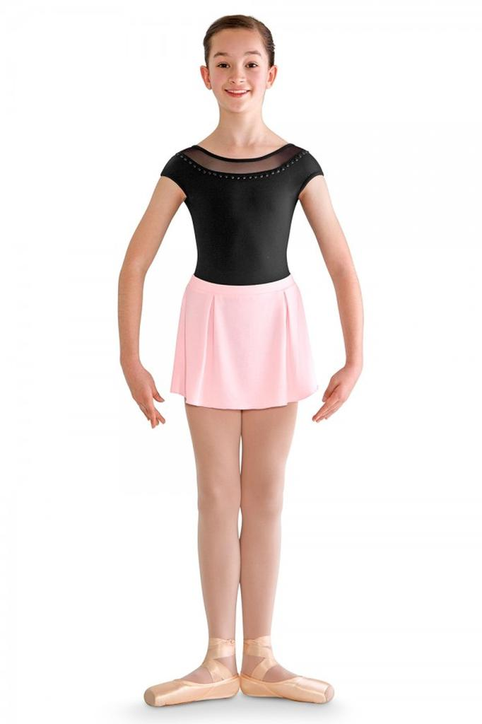 Pearl Side Box Pleat Skirt - Child