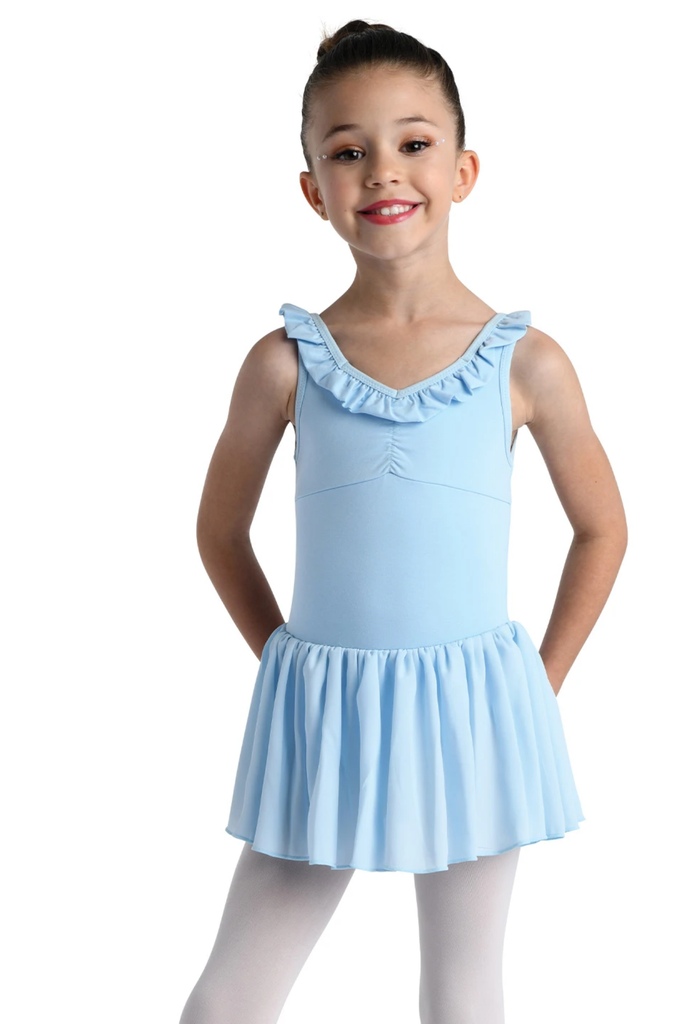 Ruffle Neck Tank Dress - Child