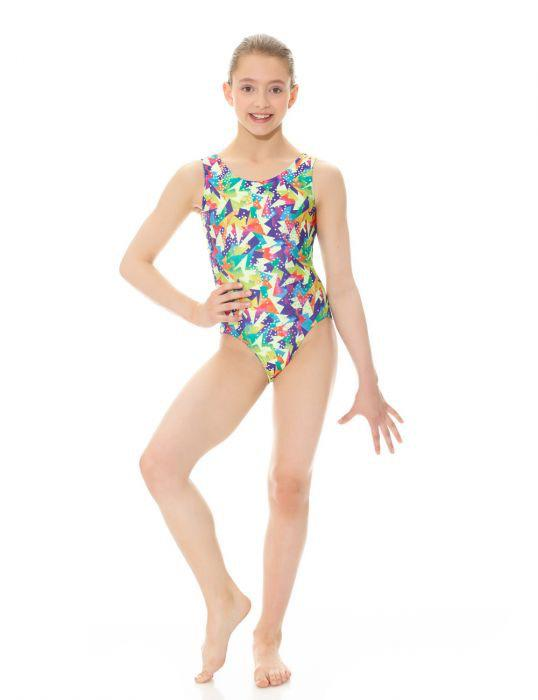 Printed Tank Leotard - Child