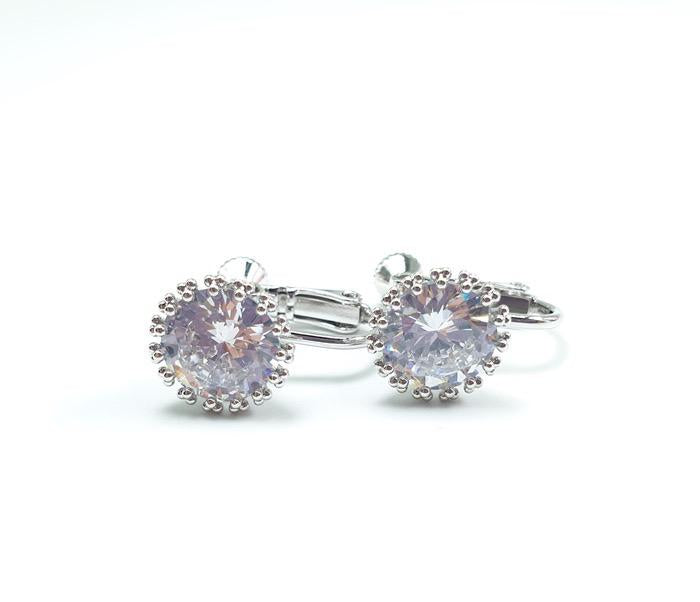 Crystal Earrings - Clip On