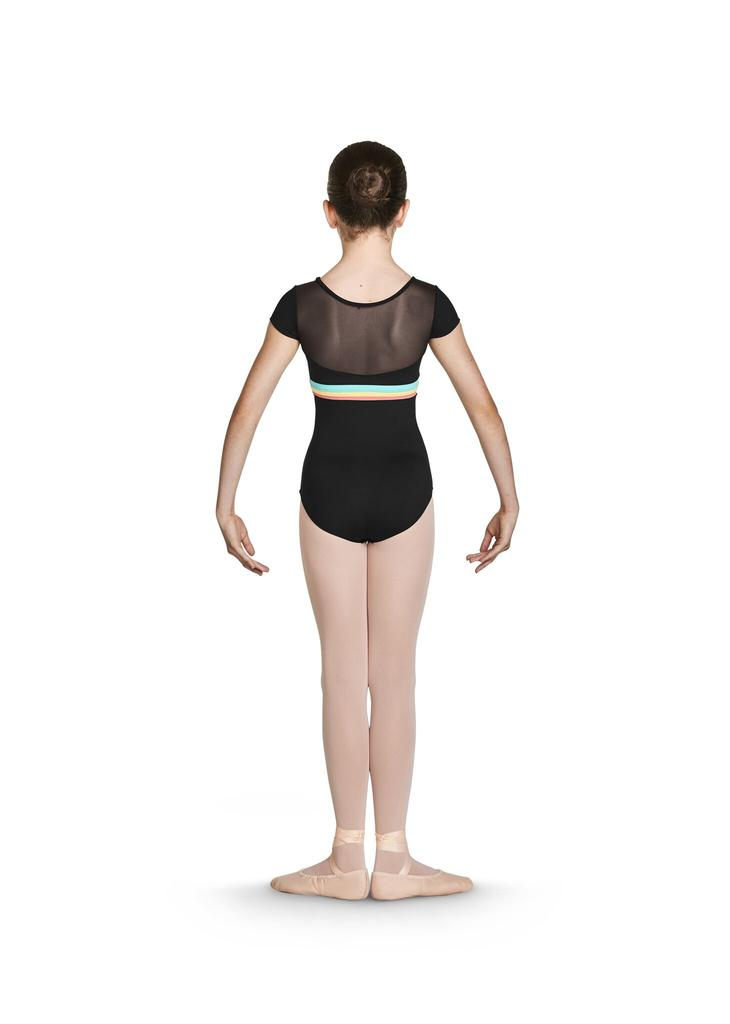 Gelato Stripe Cap Sleeve Leotard - Child