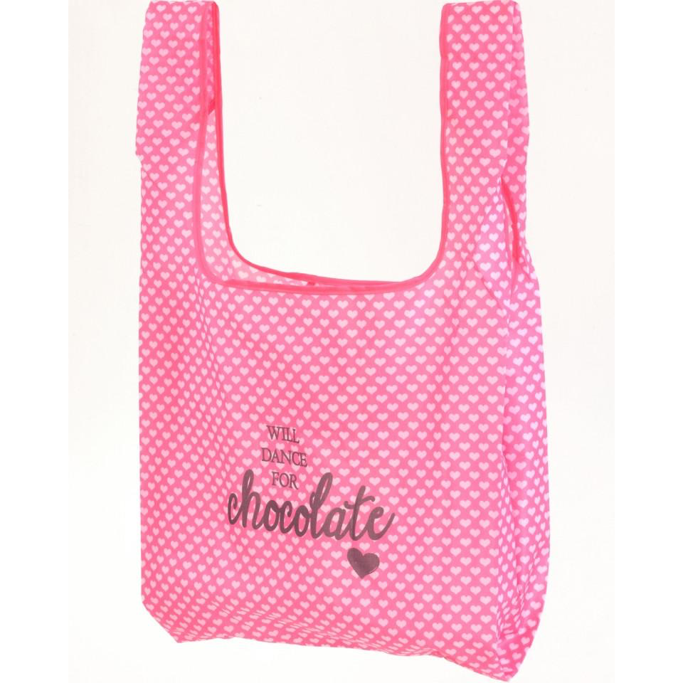 Will Dance for Chocolate Shopping Tote