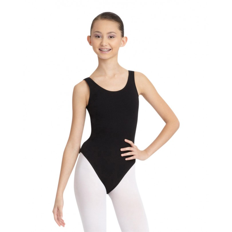 Tank Leotard with Jazz Legline - Inspirations Dancewear - 1