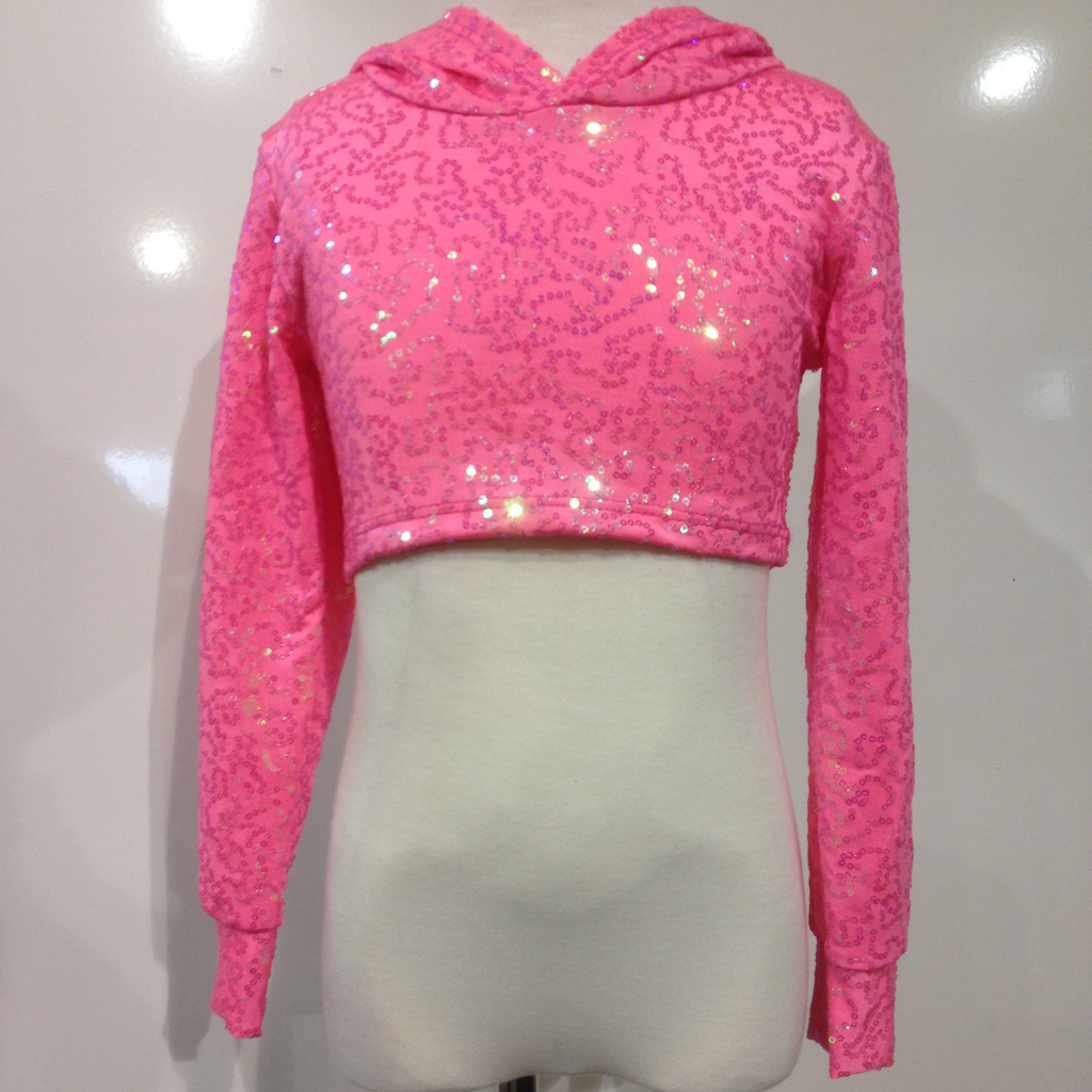 Crop Hoodie Top - Child - Inspirations Dancewear - 1