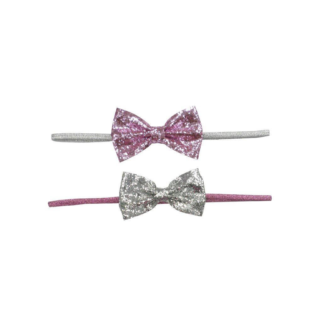 Glitzy Glam Bow Headband