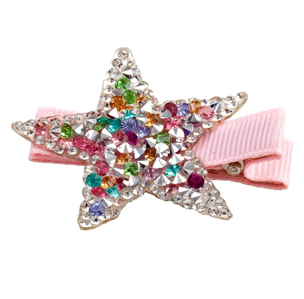 Glow Star Hair Clips
