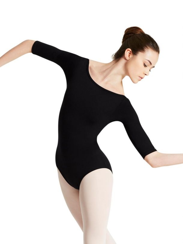 Boatneck Leotard with Scoop Back - Adult