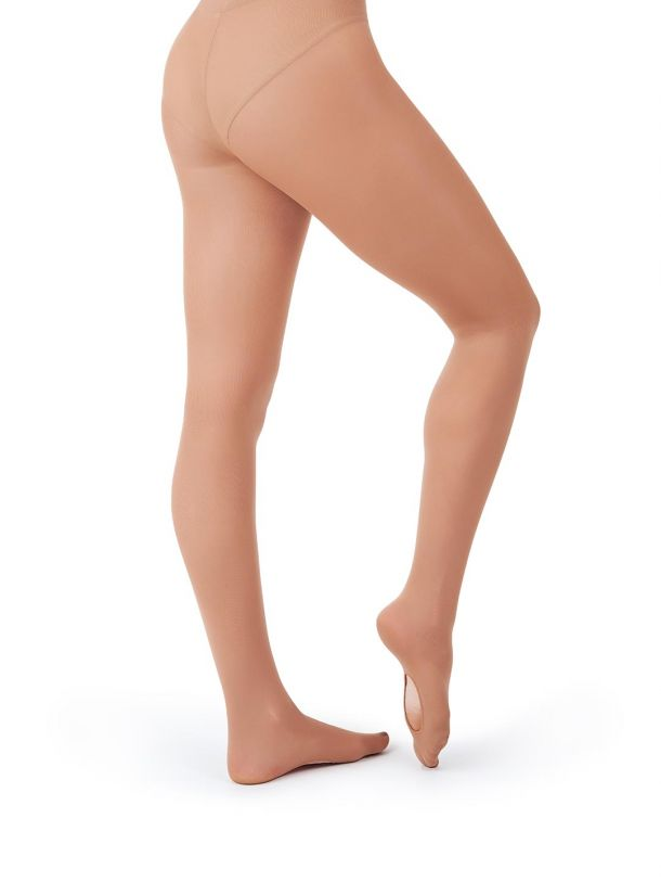 Transition Bodytights with Clear and Opaque Straps