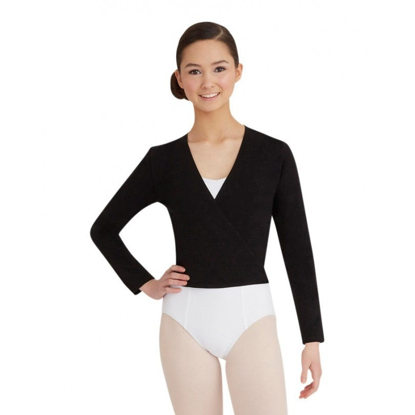 Basic Wrap Sweater - Adult - Inspirations Dancewear - 1