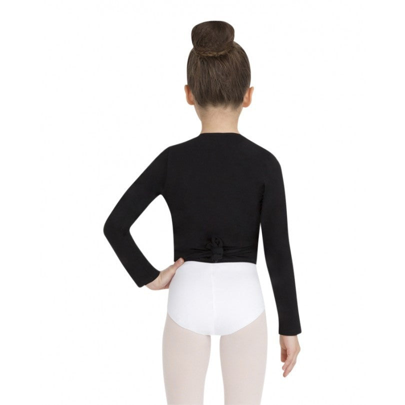 Basic Wrap Sweater - Child - Inspirations Dancewear - 4