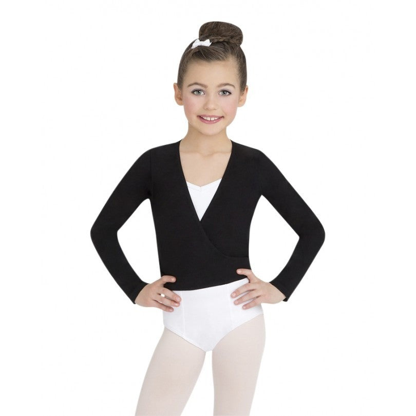 Basic Wrap Sweater - Child - Inspirations Dancewear - 3