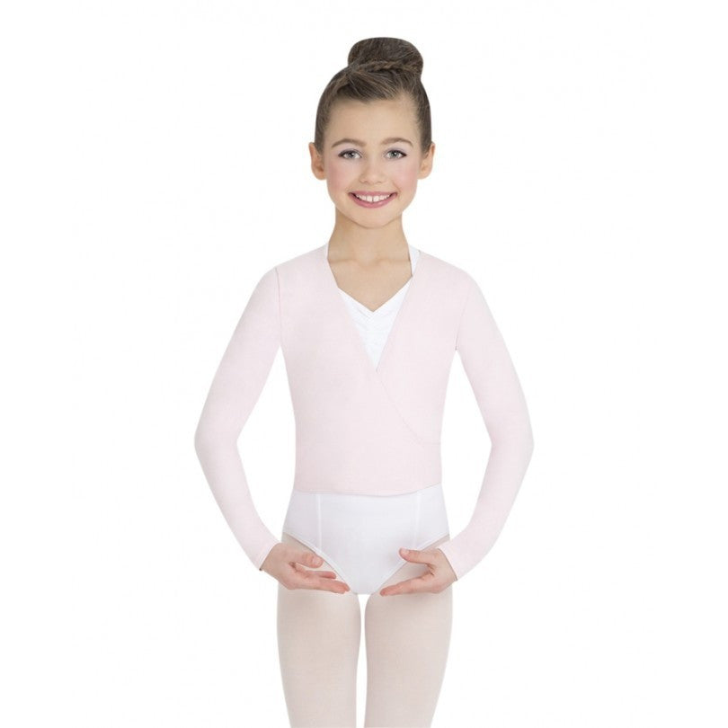 Basic Wrap Sweater - Child - Inspirations Dancewear - 1