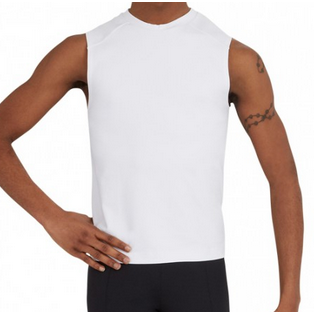 Tactel Fitted Muscle Tee - Men's - Inspirations Dancewear - 1