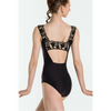 Arletty Lace Neckline Leotard - Adult