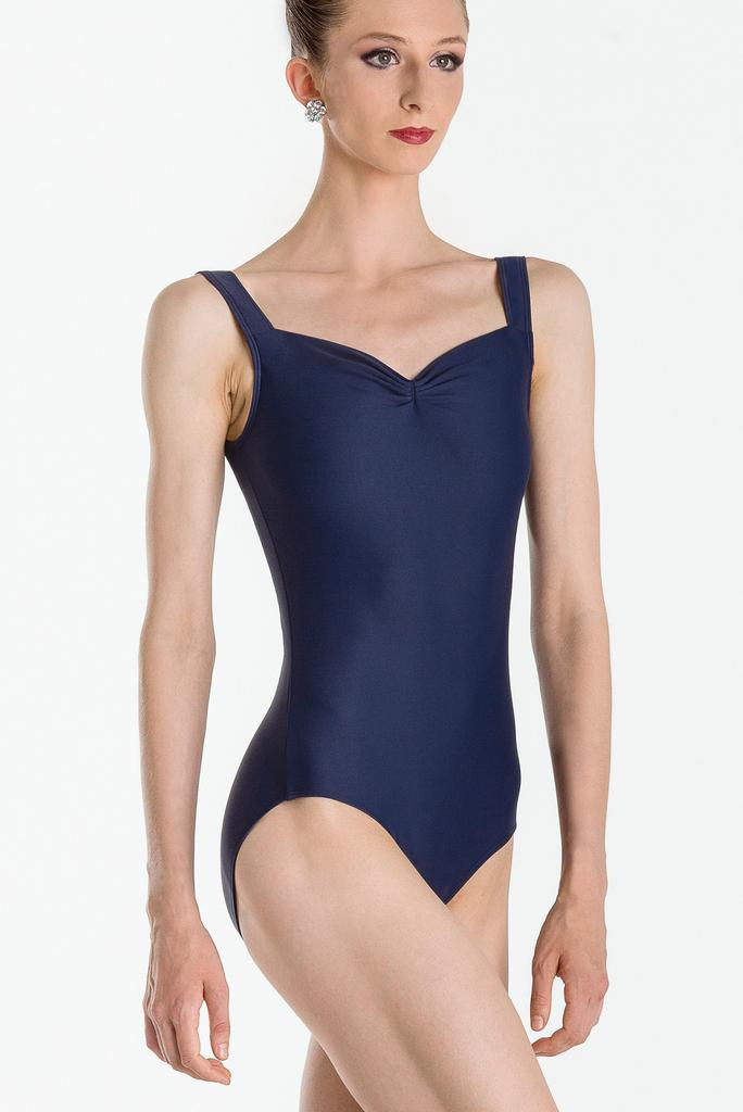 Tank with Front Pinch Leotard - Adult