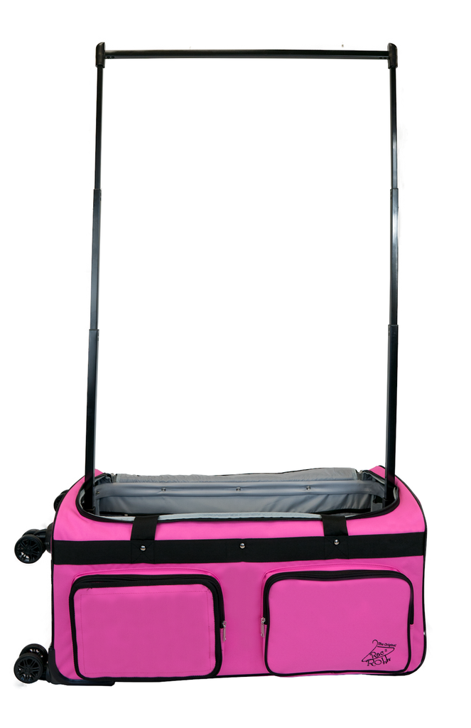 Rac N Roll 4x Dual Wheel Bag, Large, Pink