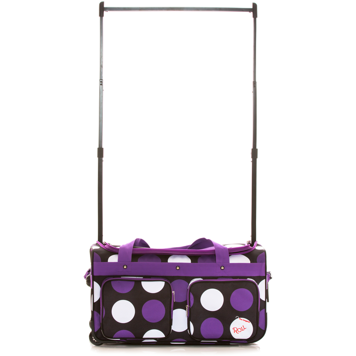 Purple Dot Rac N Roll 2.0 Bag, Large